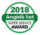 Angie's List Super Service Award winner 3 years in a row - HVAC